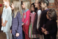 Gesangseinlage der Grundschule