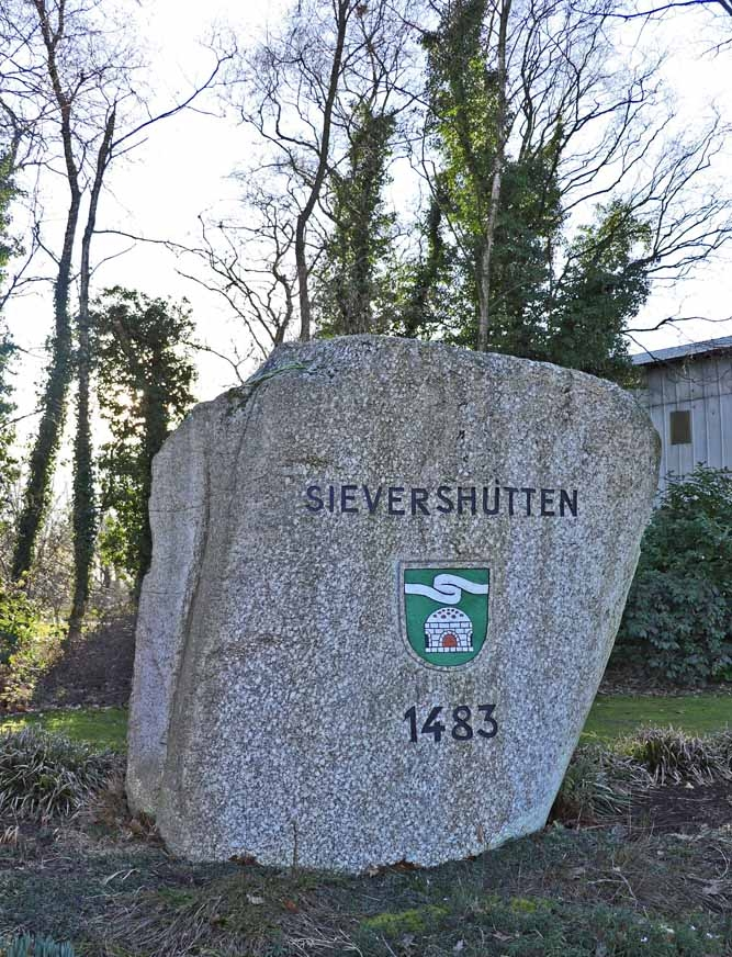 Sievershütten; erste urkundliche Erwähnung 1483