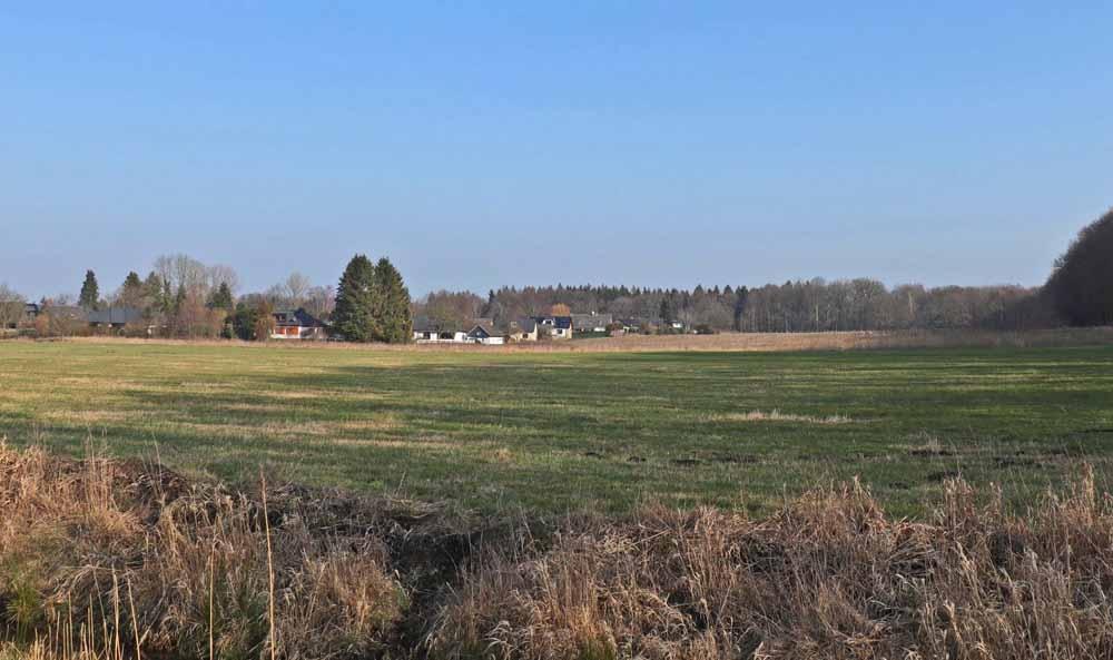 Blick auf Waldringsiedlung