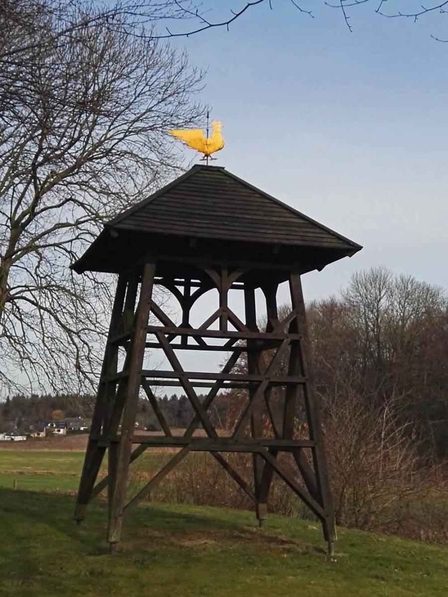 Wetterhahn der alten Kapelle