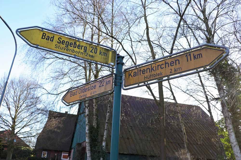 Rasch in Kaki, Segeberg, Oldesloe und auch in Hamburg