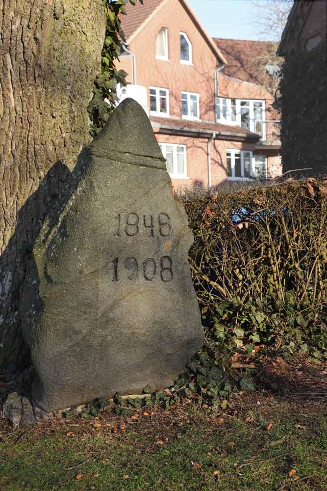 Zur Erinnerung an die Schleswig-Holsteinische Erhebung gegen die Dänische Herrschaft